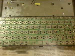 EeePC Reperatur - Kontaktfolie