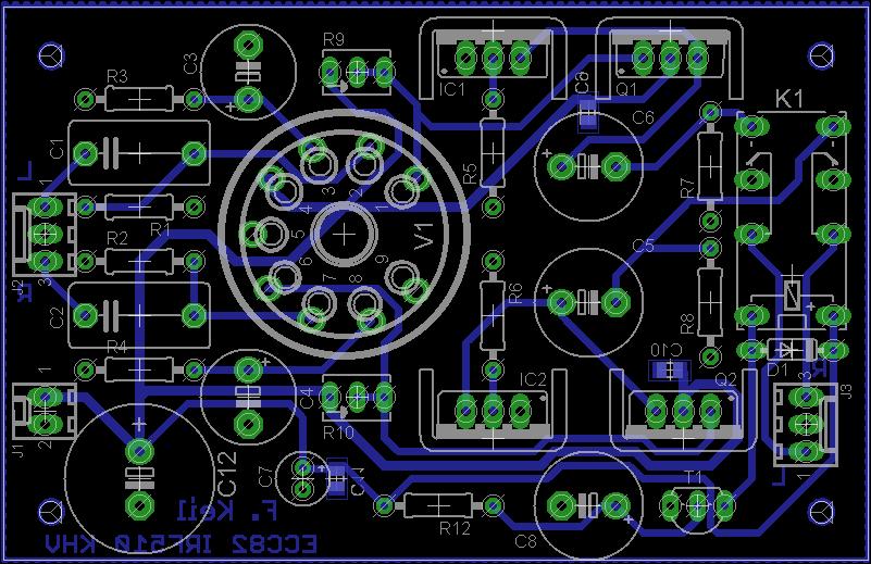 Ferdinand Keil   ECC82 / IRF510 Kopfhörerverstärker